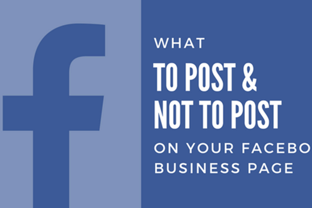 What you shouldn't post on Facebook