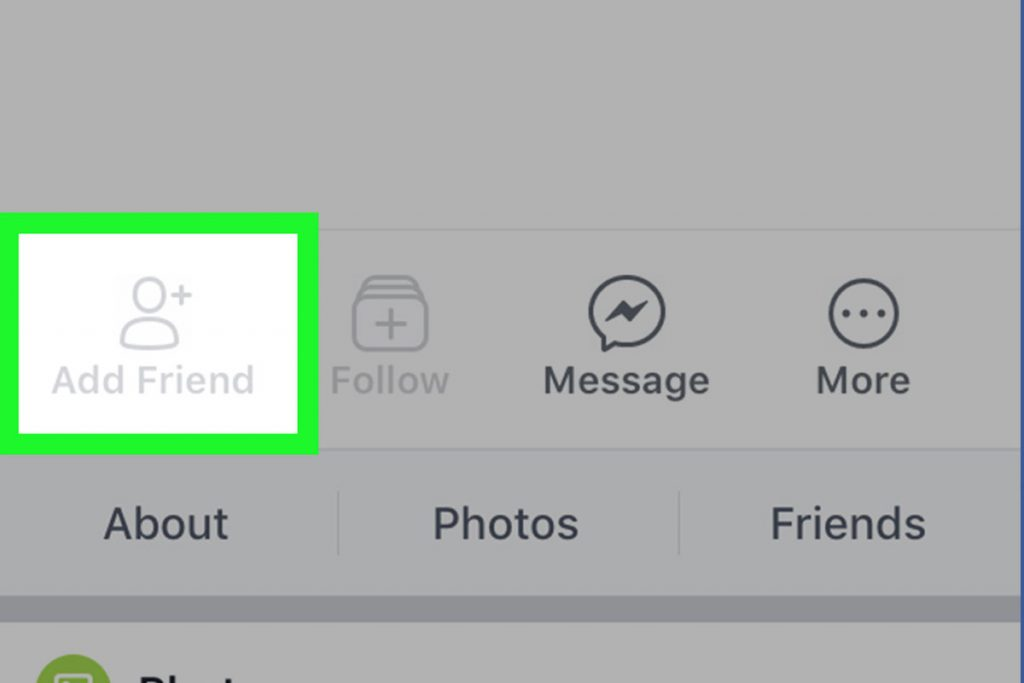Can't add on Facebook